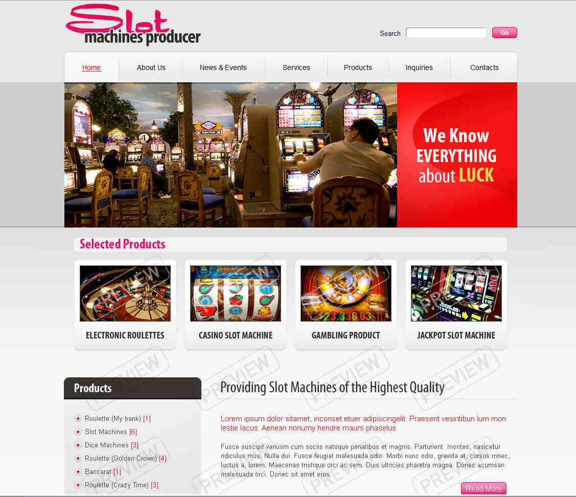 Шаблоны готовых сайтов казино владелец казино хо в минске
